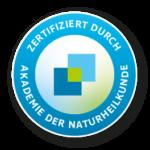 Zertifiziert durch die Akademie der Naturheilkunde